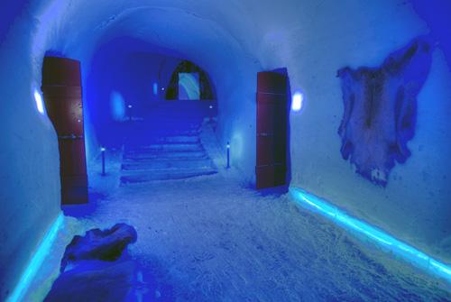 ijshotel Noorwegen