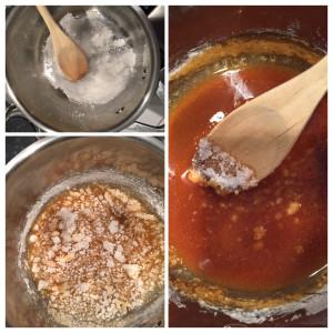 tarte tatin caramel maken