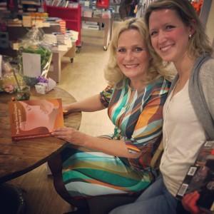 Boek laten signeren door Diana Koster